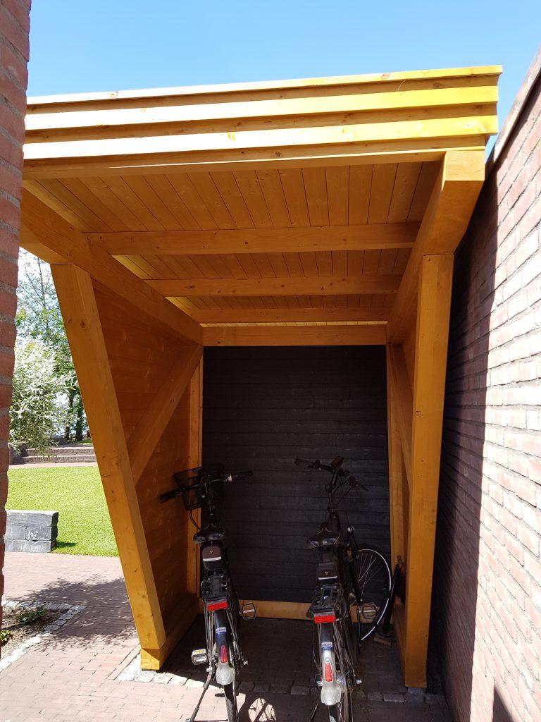 maatwerk fietsenstalling containerunit