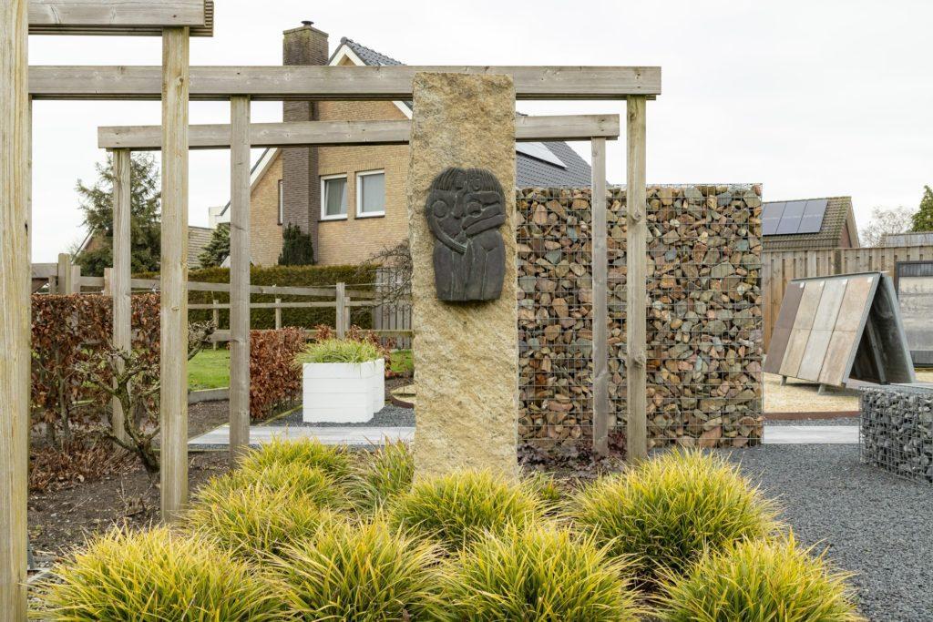 showtuin sfeertuin Tuin & Terras Ysselsteyn schutting sierbestrating hekken omheiningen keramiek douglas betontegels