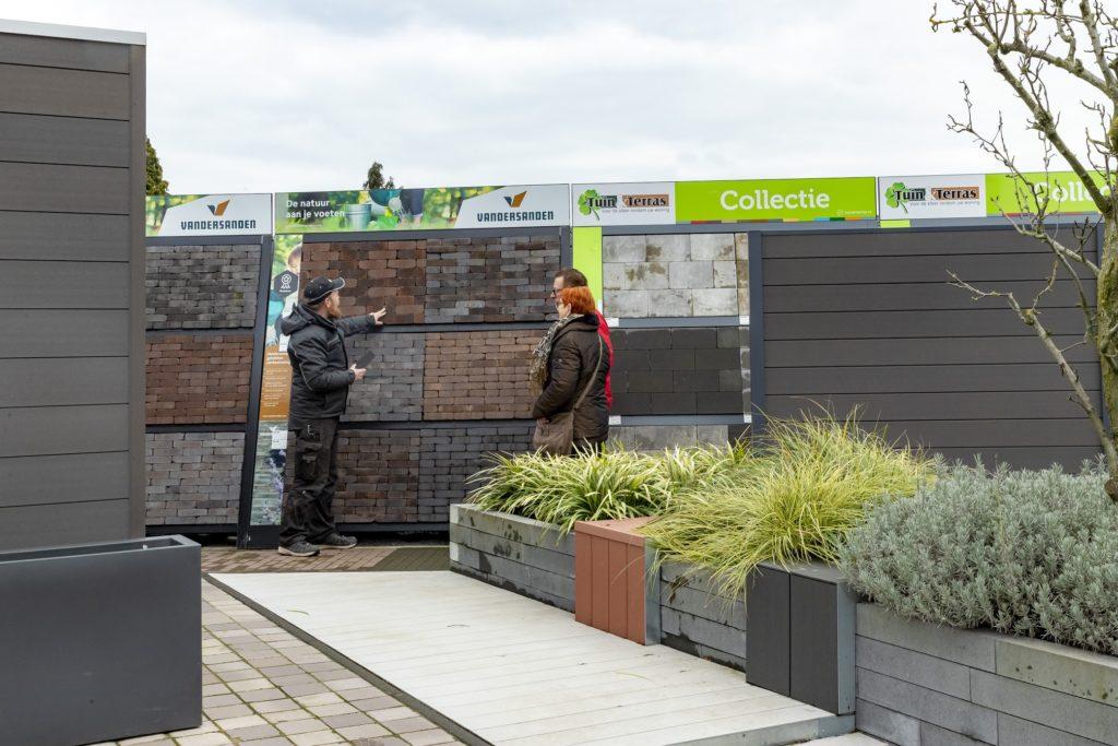 showtuin sfeertuin Showtuin sierbestrating Tuin Terras Ysselsteyn Limburg Venray Nijmegen Helmond Roermond Sittard Eindhoven