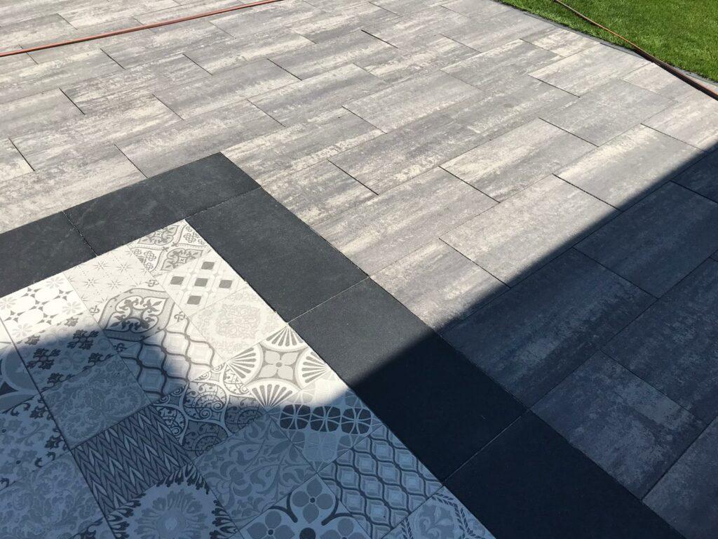 tuintegels, sierbestrating, keramische tegels, betontegels, tuintegels in beton, geoceramica, keramiek en natuursteen