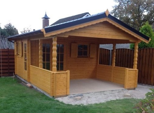 Maatwerk houtbouw garage tuinhuis overkapping carpoort tuinhuis veranda overkapping blokhut buitenverblijf terrasoverkapping kapschuur