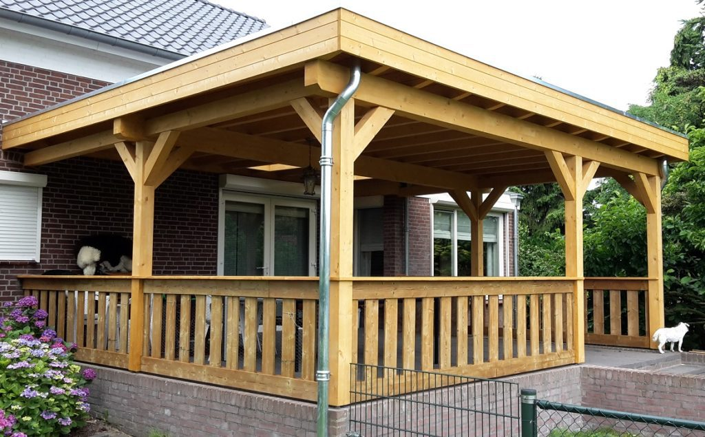 Maatwerk houtbouw garage tuinhuis overkapping carport Tuin & Terras Ysselsteyn Venray Venlo Horst Boxmeer Vlierden Asten Castenray Ommel Deurne