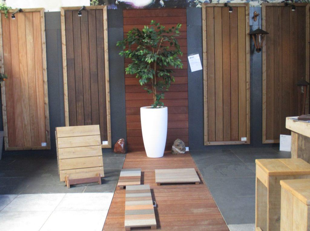 Bamboe, hout, ipe, thermoessen Inspiratie sfeertuin Tuin & Terras Ysselsteyn