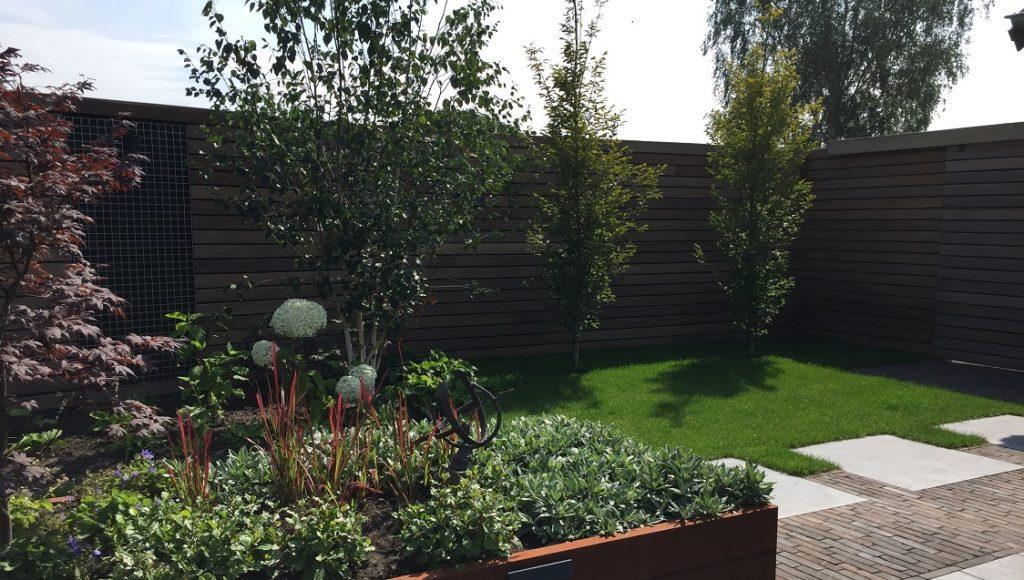Moderne tuin gebakken bestrating keramische tegel