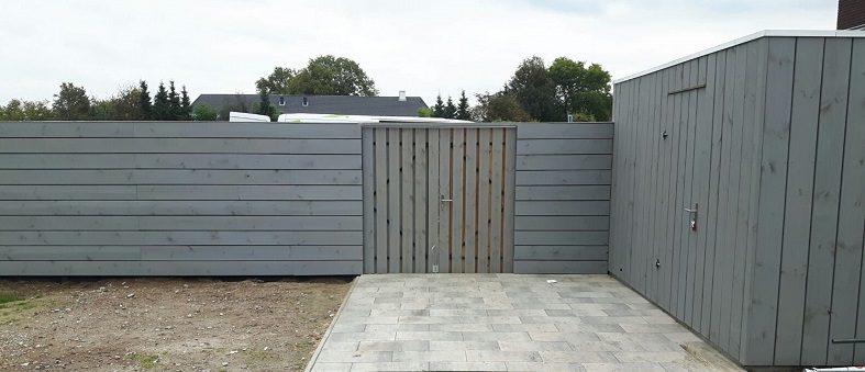 Moderne schutting Schutting omheining hek omrastering omtuining schutsel tuinscherm tuinplaten