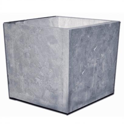 Blue Stone bloembak taps 60x60x60 cm. gezoet