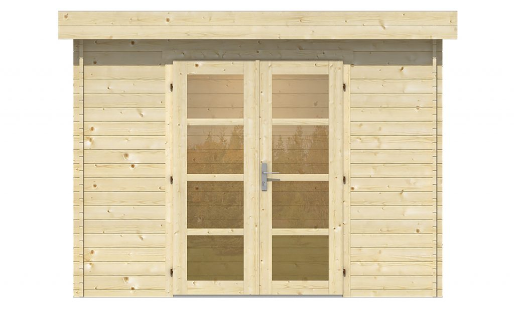 tuinhuis veranda overkapping blokhut buitenverblijf terrasoverkapping kapschuur terras trends douglas hout