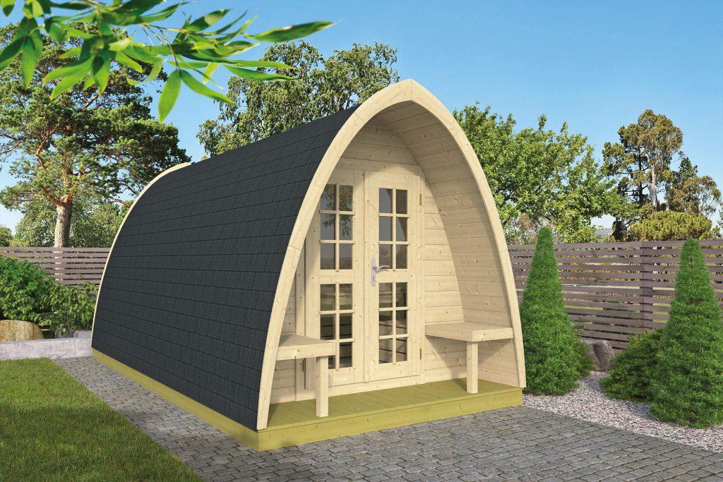 Pod camping / office double (dubbele ruimte)