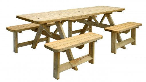 Tuinmeubelen meubelen speeltoestellen hout picknickbanken hout stoelen loungeset lounge statafels speelhuisjes schommels brandweerpalen ringen duikelstangen picknickbankjes kinderen lounge
