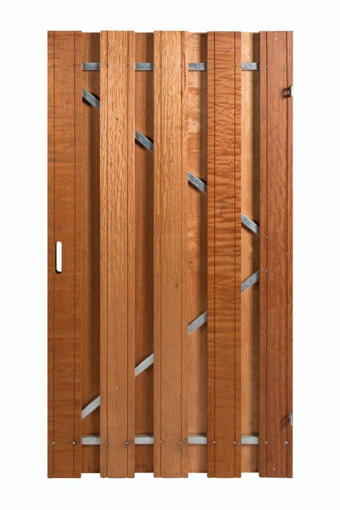 Schutting omheining hek omrastering omtuining schutsel tuinscherm tuinplaten poorten deur frame hardhout poort