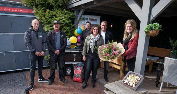 winnaar zevenbergen prijs tuin terras bbq feest