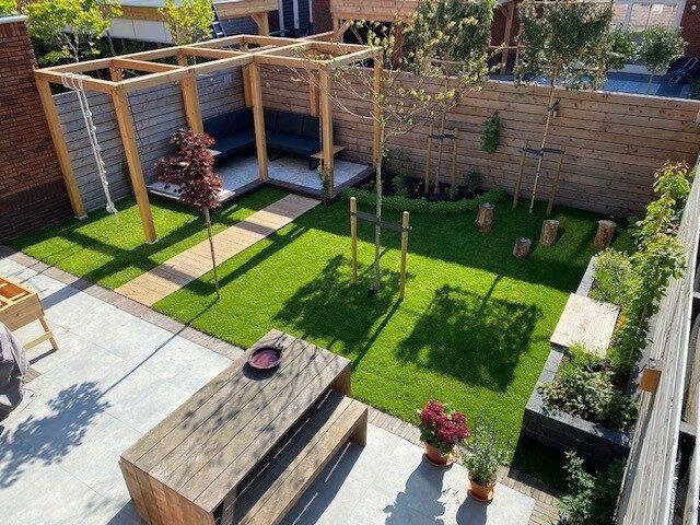 lansingerland prijswinnaar tuin terras