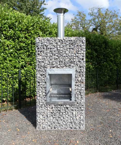 Gardeco Tuinhaard BBQ- standaard excl. stenen 500kg.