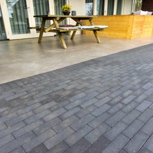 betonklinker beton klinker geosteen toplaag duurzaam kleurbehoud onderhoudsvriendelijk schoon gebakken klinker